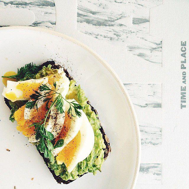 Egg & Avocado On Toast