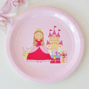 Princess Dessert Party Plate & 38 best Pretty Party Plates images on Pinterest | Party plates ...