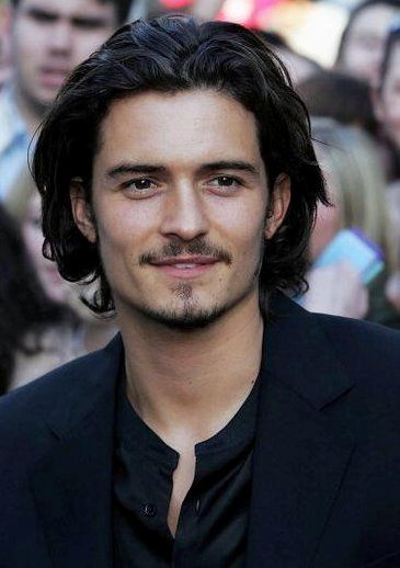 Orlando Bloom. Those eyes <3333 <<--- those everything (that everything...? Grammar. )