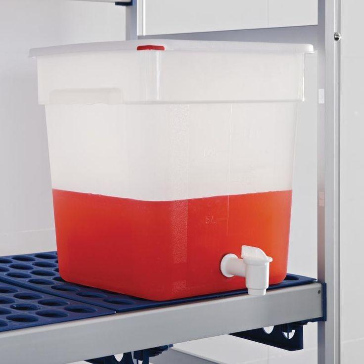 Dispensador de salsas con grifo 18L. Araven