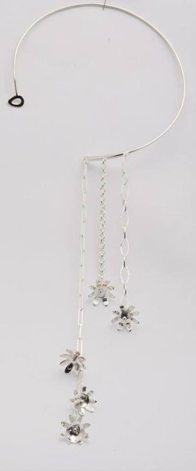 Silver Chain of daisy's as  seen @ Perth Fashion Festival http://silverchilli.bigcartel.com/product/chain-of-daisy-s
