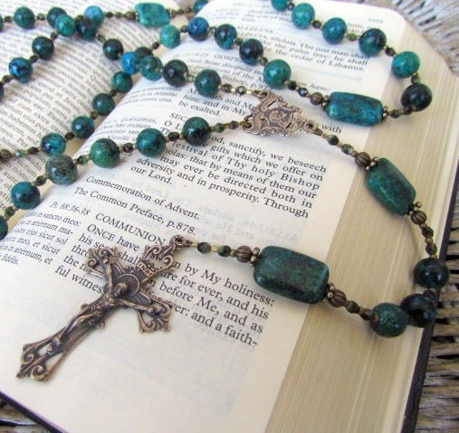 I'm not Catholic but love Rosaries.