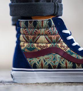 textile nerd_sneakers_printed