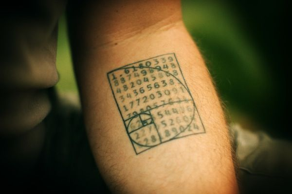 Golden Ratio tattoo. | Ratio | Pinterest