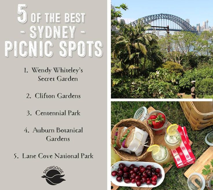 Want to enjoy the warm weather while it lasts these school holidays? Here's a recap of the 5 best picnic spots in Sydney, something to suit everyone. So pack your hamper and get out there! Would love to hear from anyone who has picnicked at these spots! Watch this space as we'll highlight Melbourne next... #5ofSydneysBestPicnicSpots #SnowgooseGiftHampers #Picnics