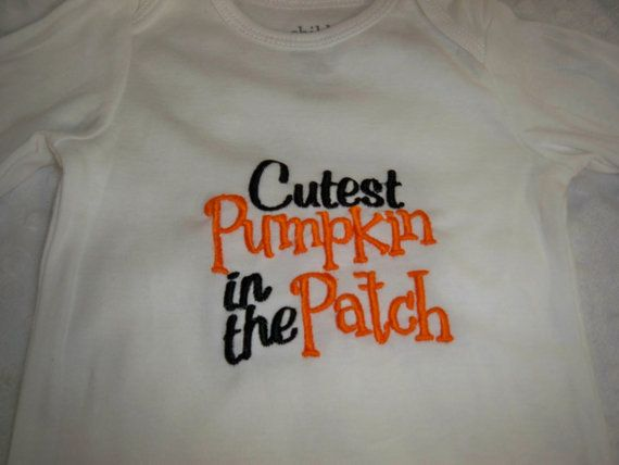 Hey, I found this really awesome Etsy listing at https://www.etsy.com/listing/165194161/halloween-baby-outfit-cutest-pumpkin-in