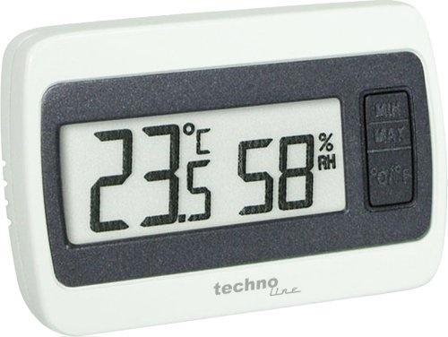 Technoline WS 7005 Temperaturstation weiß-grau
