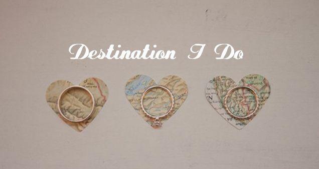 destination I do | travel themed wedding