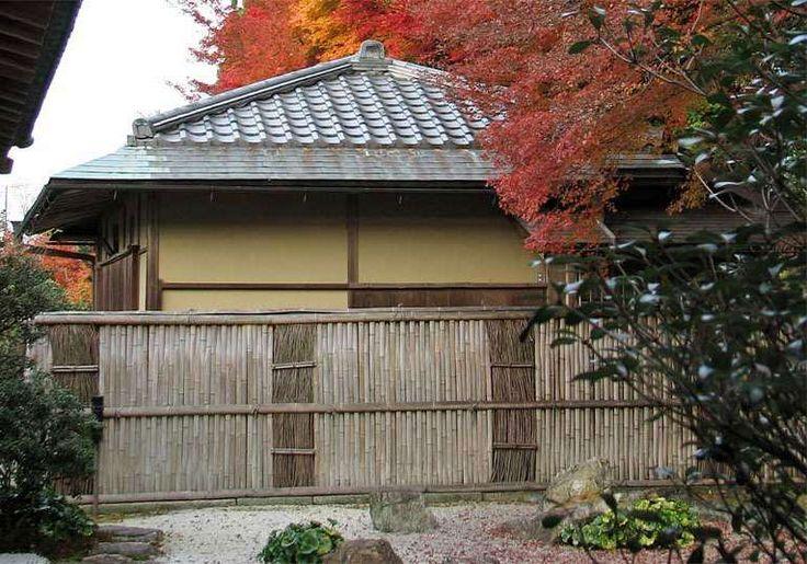 Desain Pagar Rumah Bambu Bergaya Jepang ~ Foto Gambar Wallpaper