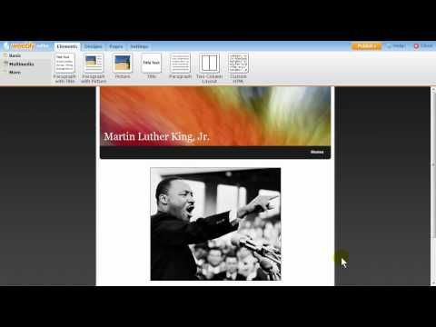 Weebly Demo - National History Day Contest