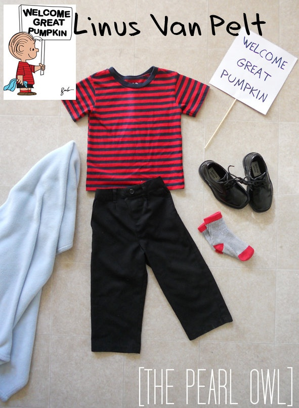 Linus (from Charlie Brown) costume!