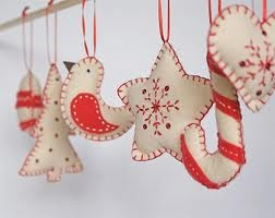 handmade christmas decorations - Google Search