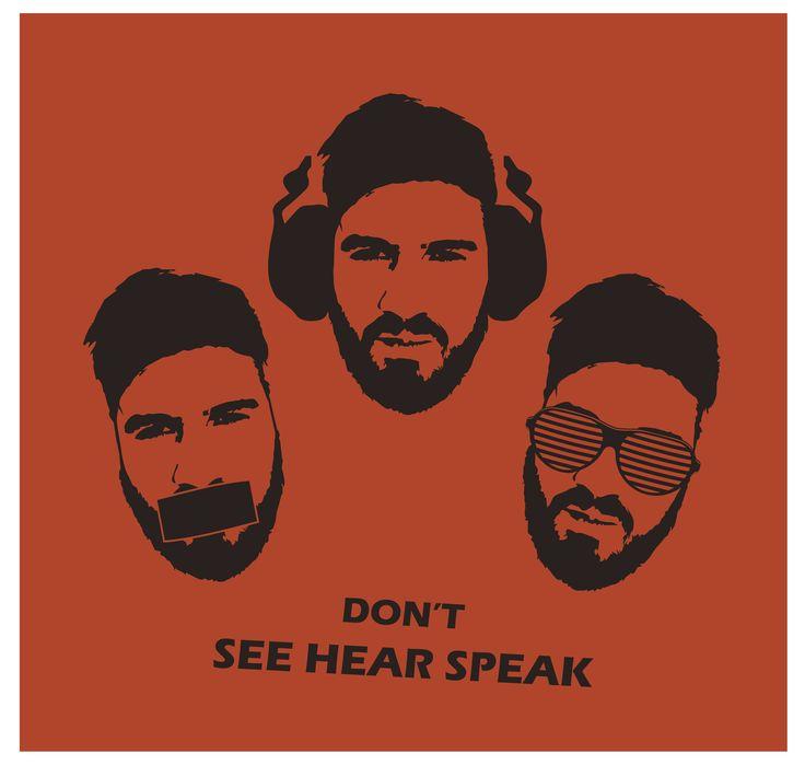 Don't see,hear,speak