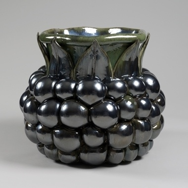 Kate Malone A Big Blackberry, 2012 Crystalline-glazed stoneware