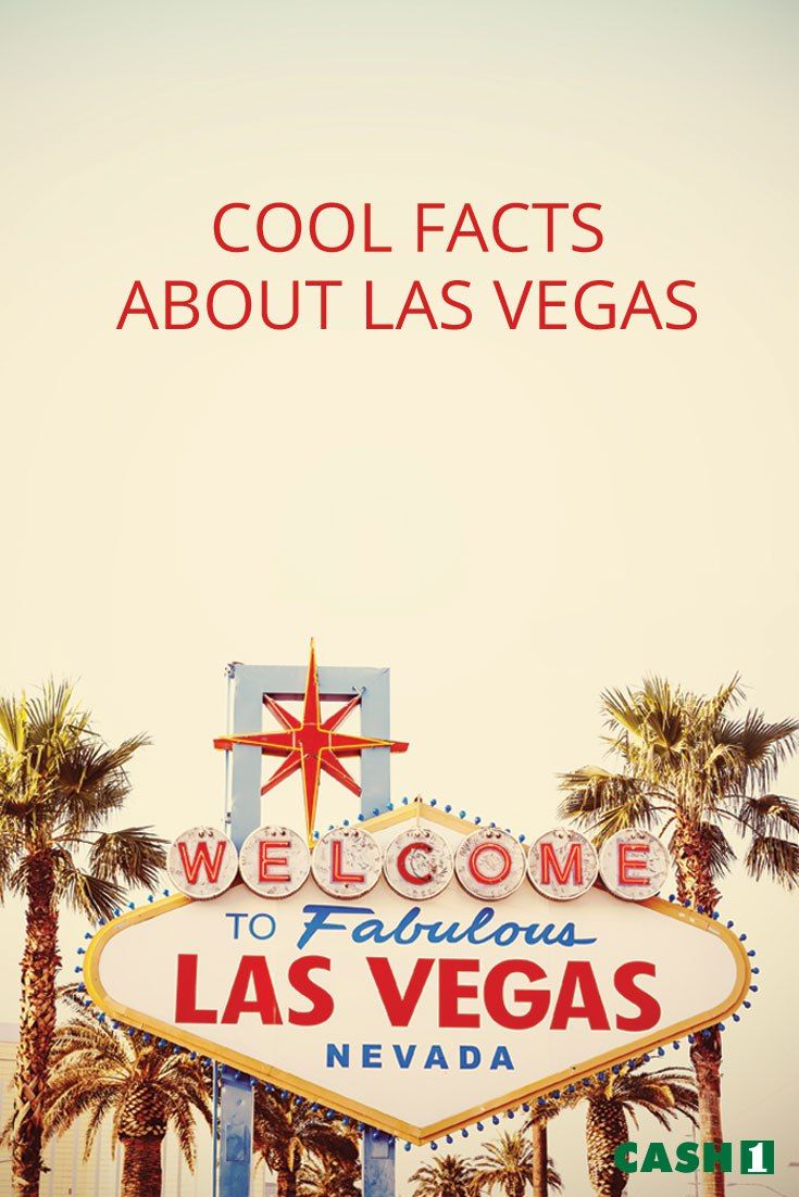 Interested in cool facts about Las Vegas? There's a lot more than booze and buffets in Sin City. Check out these interesting Las Vegas facts and enjoy.