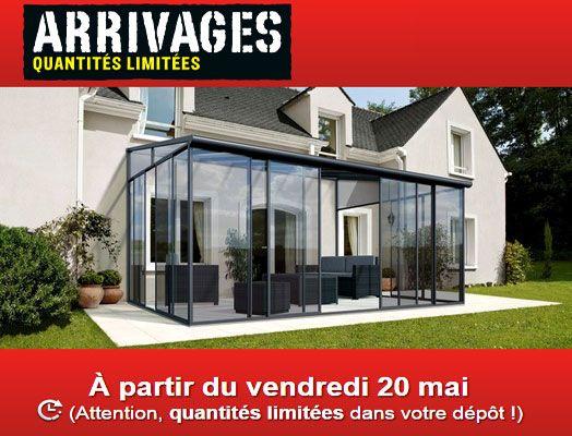 Les Arrivages Brico Depot Du 20 Mai Tonnelle Jardin Depot Patio