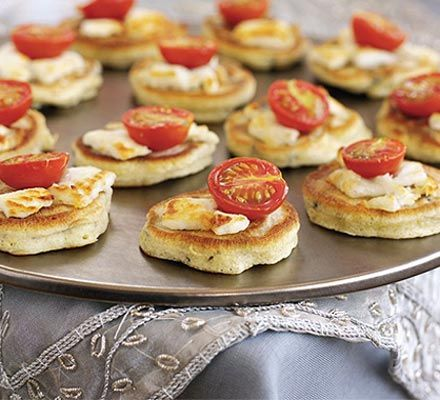 Rosemary & olive drop scones with goat's cheese recipe - Recipes - BBC Good Food
