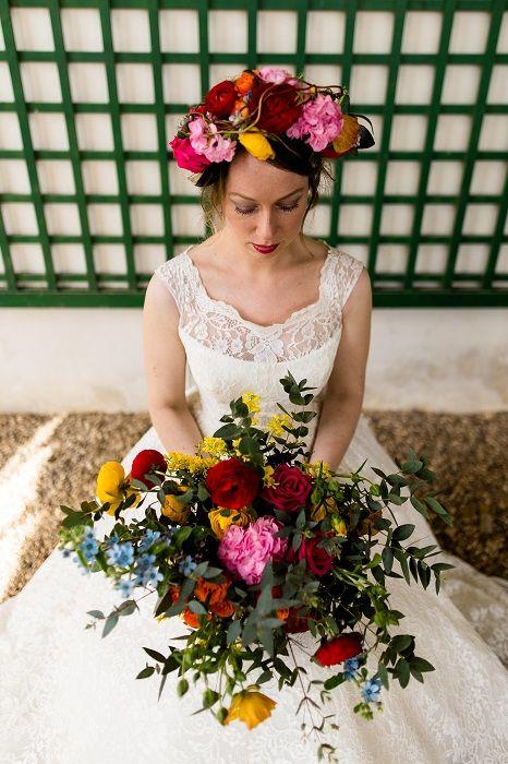 Inspiration : Mariage Vintage Multicolore