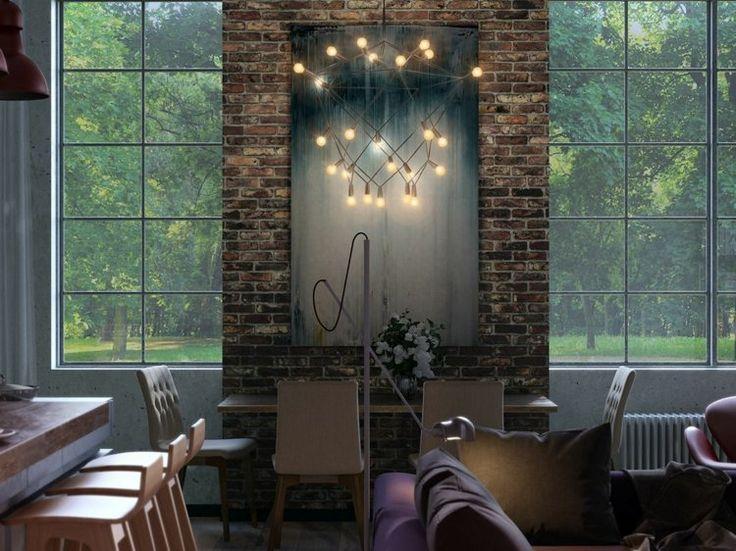 Die besten 25+ Loftwohnungen Ideen auf Pinterest Industrie loft - einrichtung im industriellen wohnstil ideen loftartiges ambiente