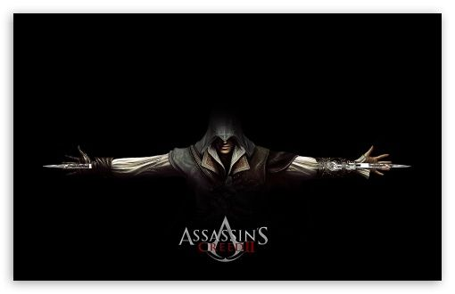 Assassin's Creed 2 Ezio Black wallpaper