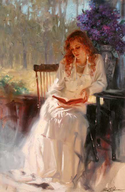 Richard S Johnson, Momentos compartidos, Pintor