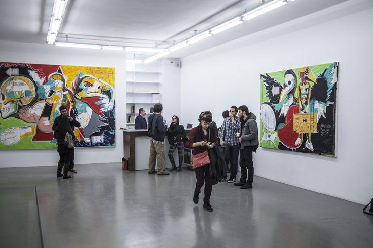 2012 ve 2013 yılları arasındaki eserleri tuval üzerine akrilik, yağlı pastel - boya kalemi ve karakalem teknikleri ile yapıldı. #artfulliving #sergi #exhibition #contemporaryart #danielharms #bapistanbul