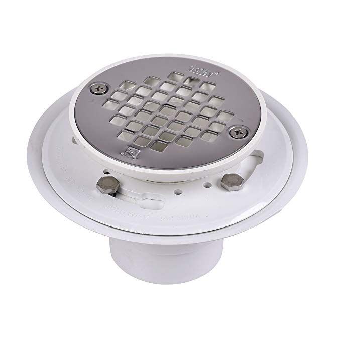 Oatey 42213 Pvc Drain With Stainless Steel Strainer For Tile