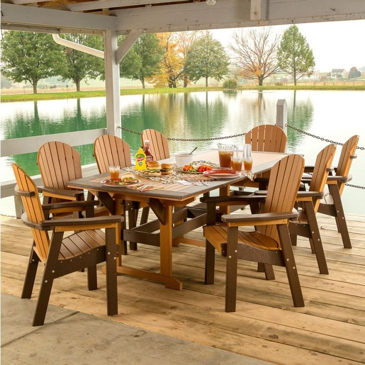 17 Best Images About Amish Polywood Furniture On Pinterest Dining Sets Octagon Picnic Table