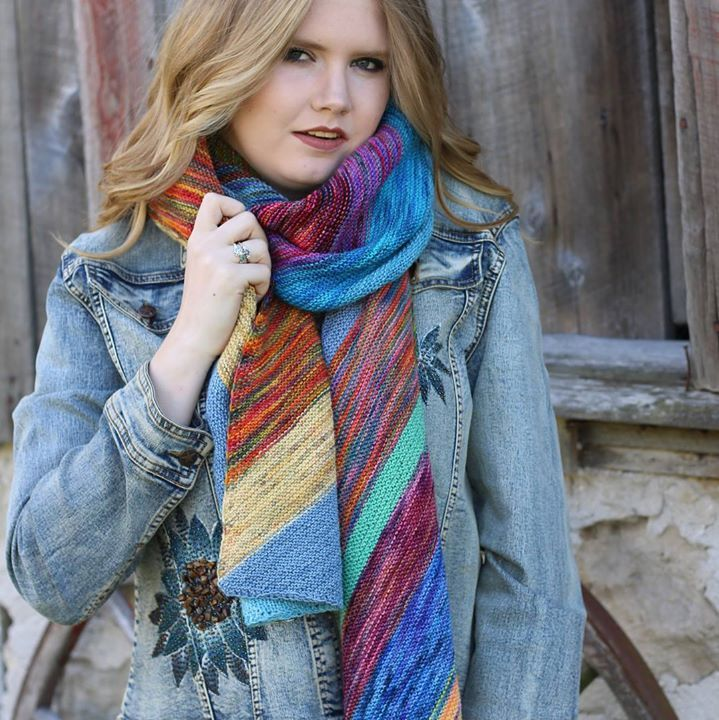 56fd5fb1ab2 Wrap yourself up this winter ❄️ in the Potpourri Colour Shawl ...