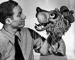 "William Britton Baird (August 15, 1904 – March 18, 1987), professional name Bil Baird, but often referred to as Bill Baird, was an American puppeteer of the mid- and late 20th century.    One of his better known creations was Charlemane the lion. He and his wife Cora Eisenberg Baird (1912–1967) produced and performed the famous puppetry sequence for ""The Lonely Goatherd"" in the film version of The Sound of Music."
