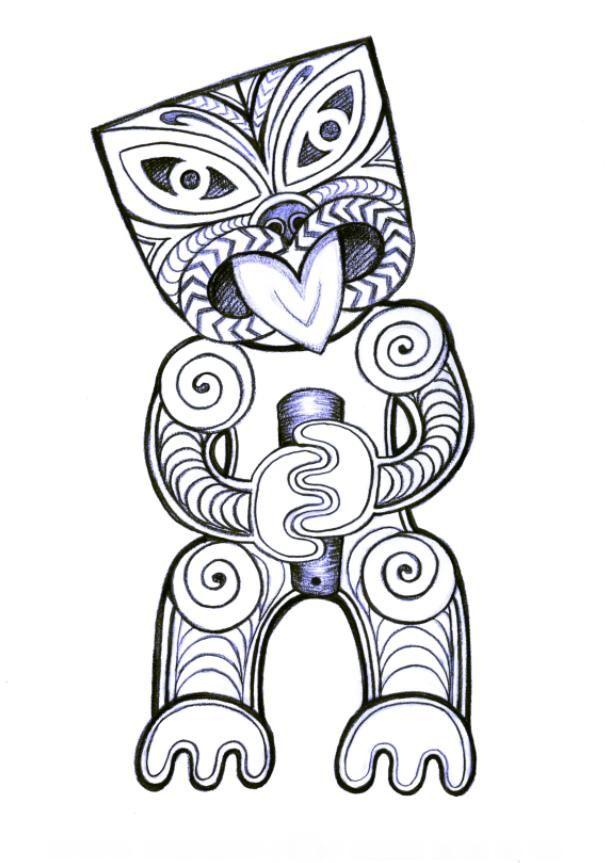 Maori Warrior Tattoo Design: 626 Best Pacific And Maori Art Images On Pinterest