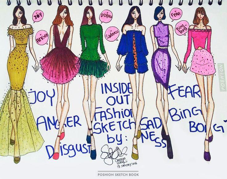 Poshion Sketch Book | #fashionillustration #sketchbook #fashionsketch #fashiondesign #draw #croquis #learntodraw #fashionposes #fashionfigure #fashion #fashionstudent