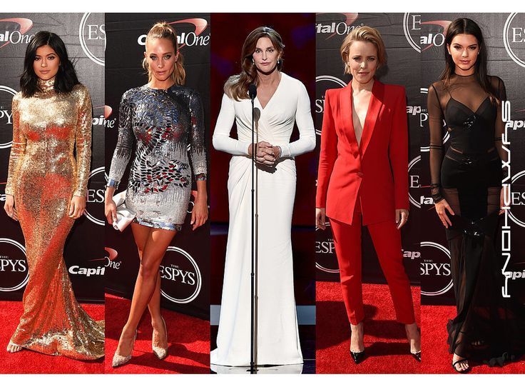 The Stars at the ESPYs were definitely on their style game! They didn't stick to one trend, instead the red carpet with filled with slitted gowns, plunging necklines, and tailored suits! Which look was your favorite? ☺️  www.symphonyfashion.com  #Symphonyfashion #fashion #wholesale #womensfashion #dresses #celebrities #espy2015 #outfit #trend #style #kyliejenner #hannahdavis #caitlynjenner #rachelmcadams #kendalljenner #redcarpet