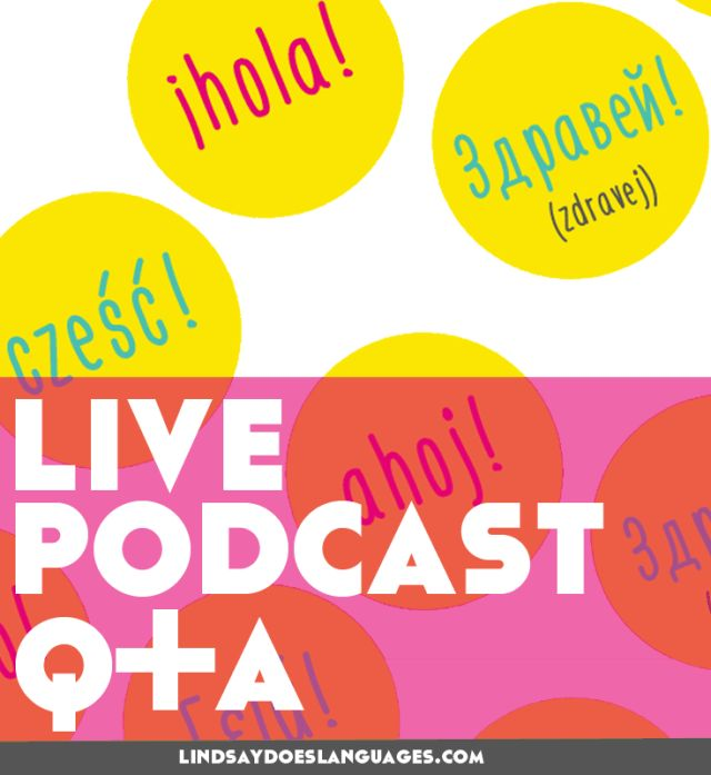 European Day of Languages: LIVE Podcast Q+A and freebie!