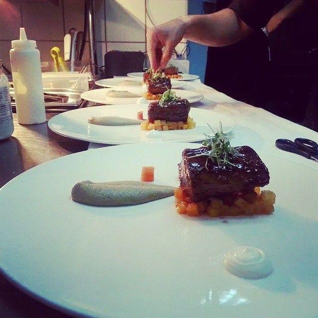 Something good - something tasty is preparing here by chef! Photo credits: @pamporis_dimitris