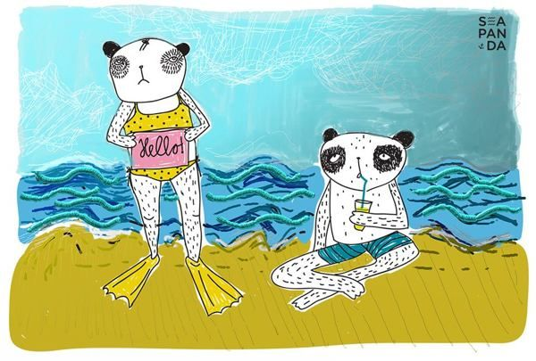Illustrations by Sea Panda by Sea Panda, via Behance
