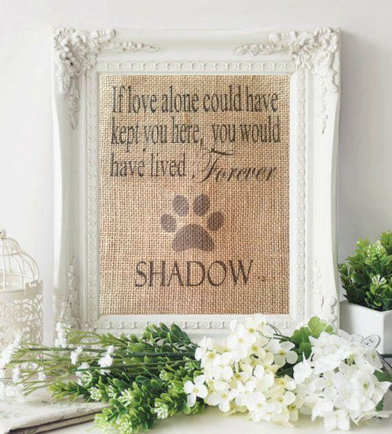 Pet Memorial, Pet Remembrance, Pet Memorial Gift, In memory of pet, Dog Memorial, Cat Memorial