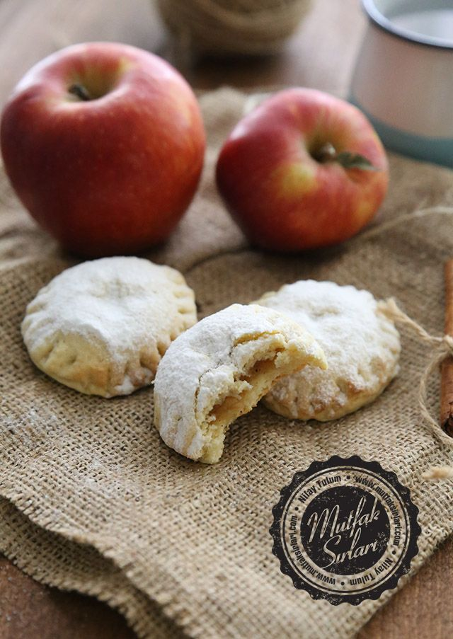 Elmalı Puf Kurabiye – Mutfak Sırları – Pratik Yemek Tarifleri