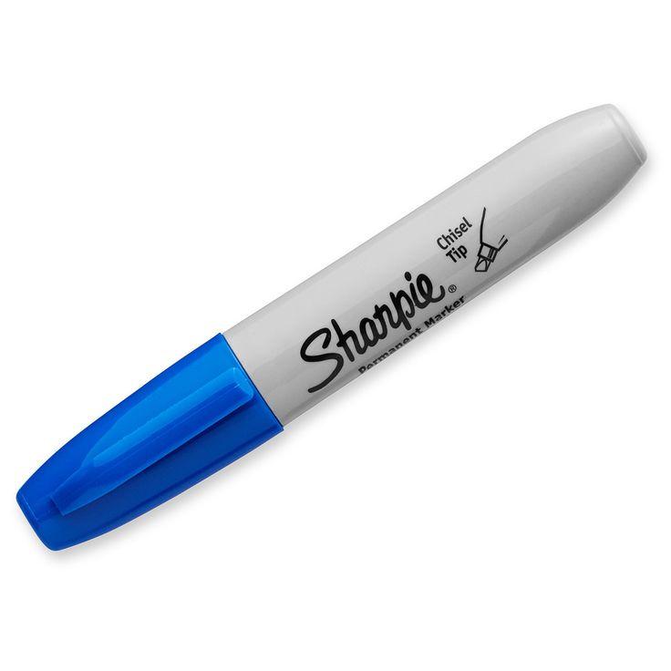 Sharpie Permanent Marker Chisel Tip Blue