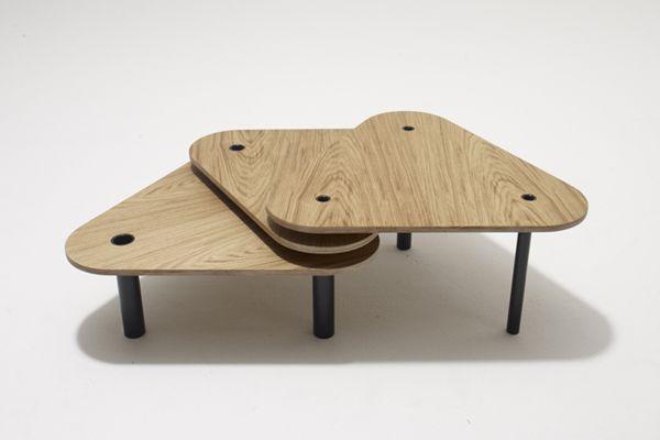 Banda low tables - designed by Lehel Juhos