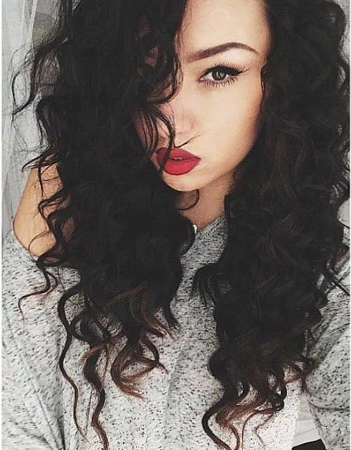 27 New Curly Perms for Hair | Long Hairstyles