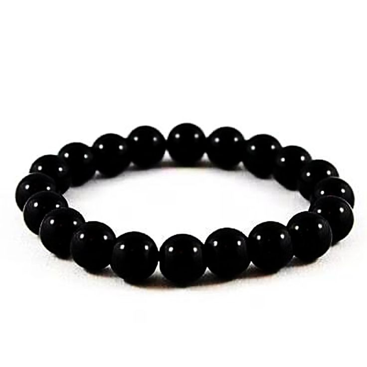 Black Onyx Power Bracelet 8mm   New Earth Gifts