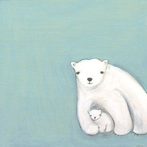 Arctic Love Wall Canvas Art - Wall Sticker Outlet
