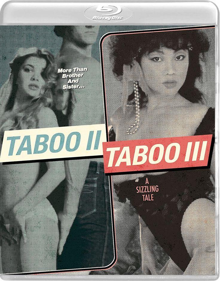 TABOO II / TABOO III: A SIZZLING TALE VINEGAR SYNDROME BLU-RAY