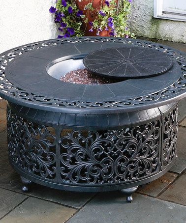 80 best images about gas fire pit on pinterest fire pits for Concreteworks fire table