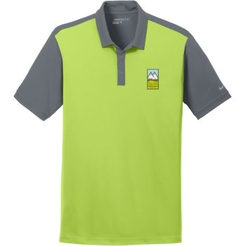 Nike Dri-FIT Colorblock Custom Polo Shirts - Men's #promo #custom #nike
