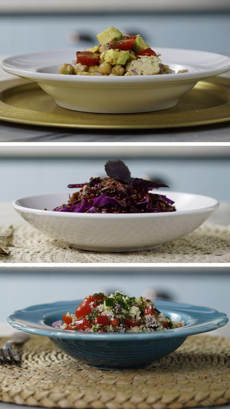 3 Ideias de Salada