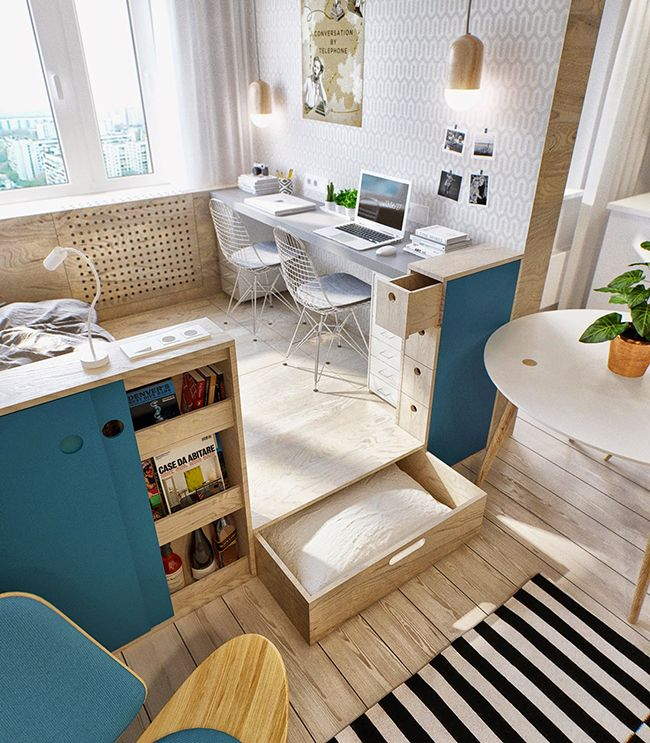 inspiration petit appartement architecte