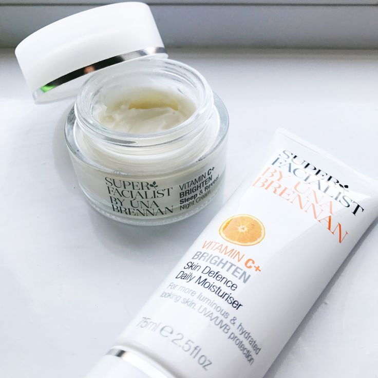 Super Facialist Vitamin C moisturiser and night cream from their skincare range