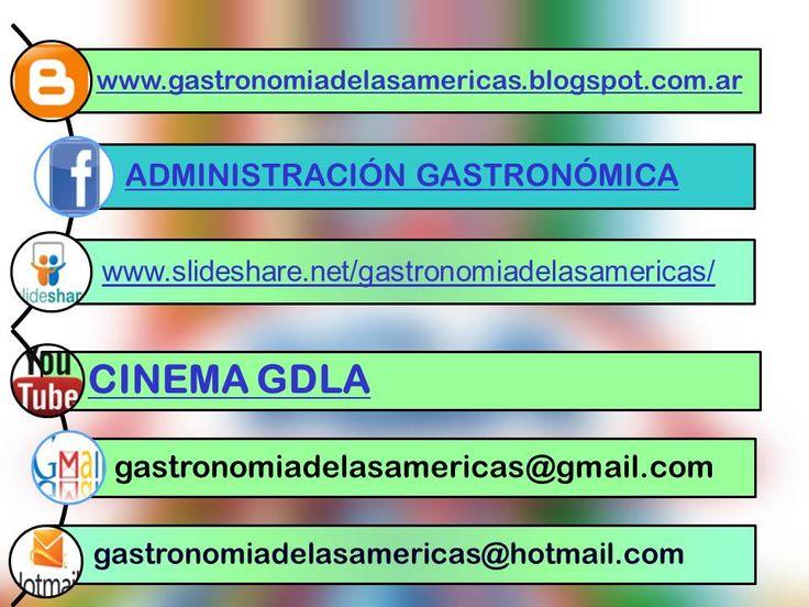direcciones web y correos electrónicos.